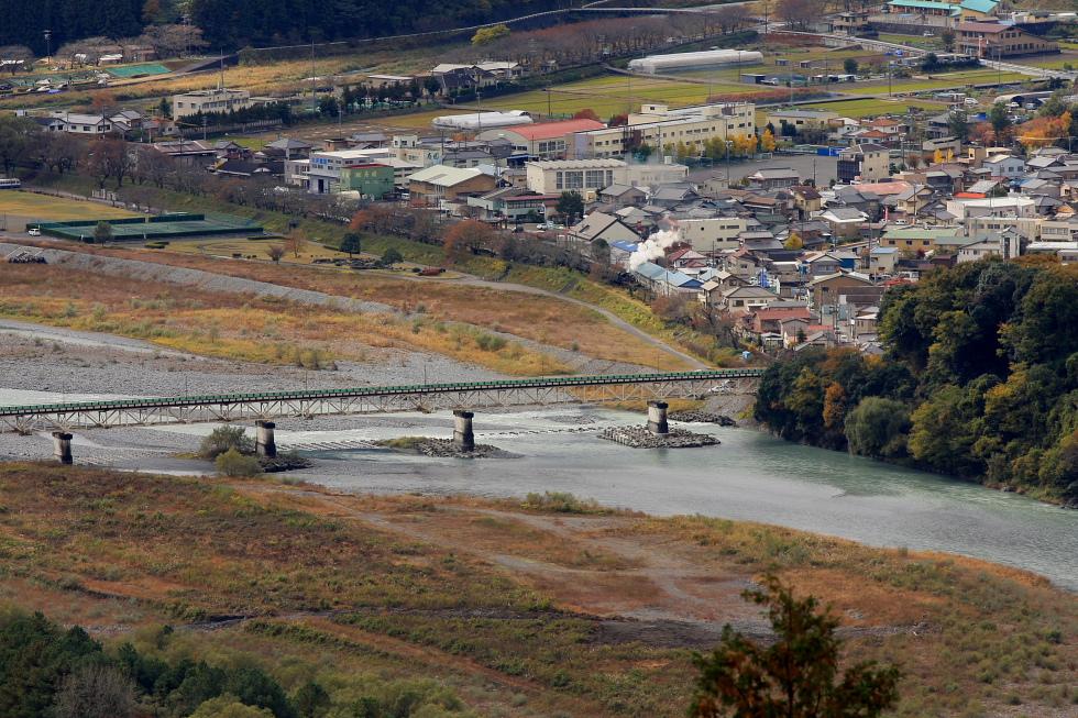 高みから駅を眺めた日 - 2010年秋・大井川 -_b0190710_23445388.jpg