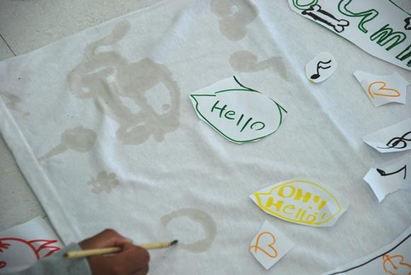 豆乳で描いてコーヒーで染めたTシャツ_c0167264_12293193.jpg