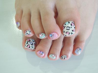 Colorful Leopard Nail_a0239065_16425959.jpg