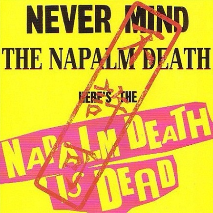 from Bloodbath! REALIZED! CONGENITAL HAEMORRHOIDS/ NAPALM DEATH IS DEAD / split! 入荷!_d0246877_1564185.jpg