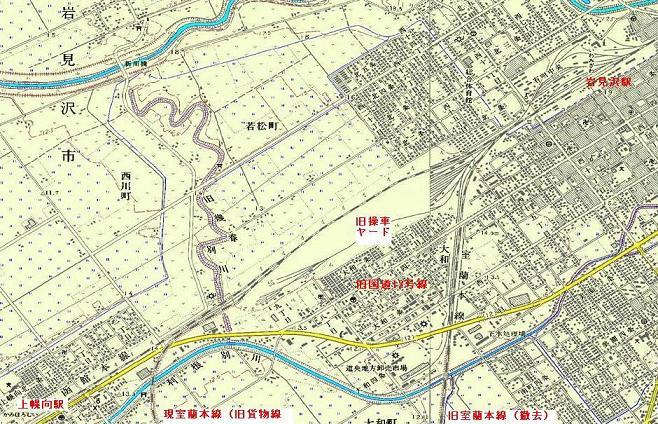 岩見沢駅付近の室蘭本線の線路付け替え_f0078286_93569.jpg