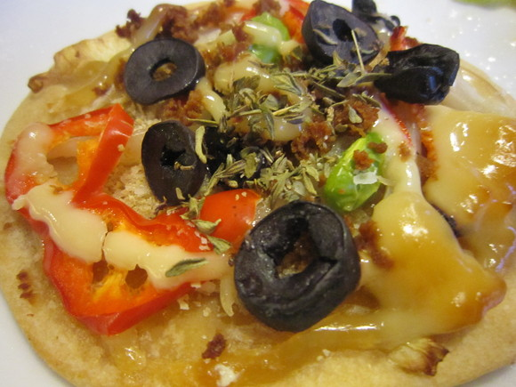ピザ4種&ピクニックの料理&スムージー3種_c0125702_23315362.jpg
