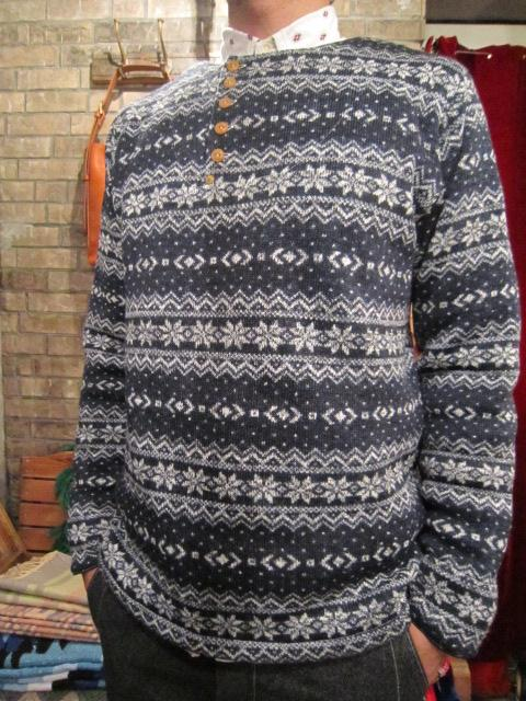 """ANACHRONORM \""""Nordick Tilted Henley Neck L/S T-shirt\"""" ご紹介_f0191324_917364.jpg"""