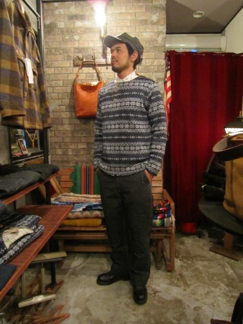 """ANACHRONORM \""""Nordick Tilted Henley Neck L/S T-shirt\"""" ご紹介_f0191324_917927.jpg"""