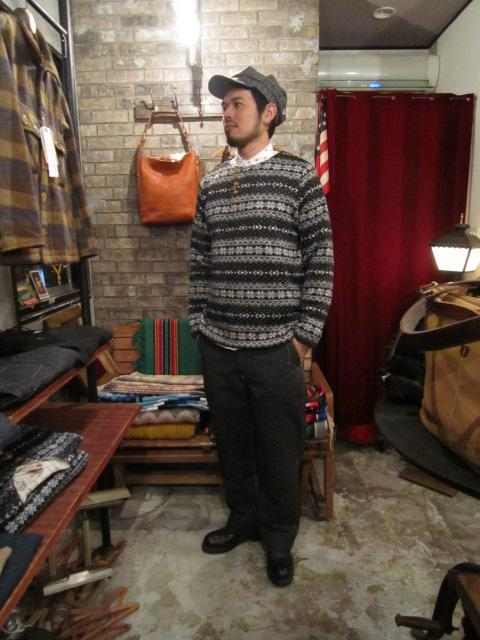 """ANACHRONORM \""""Nordick Tilted Henley Neck L/S T-shirt\"""" ご紹介_f0191324_9181214.jpg"""