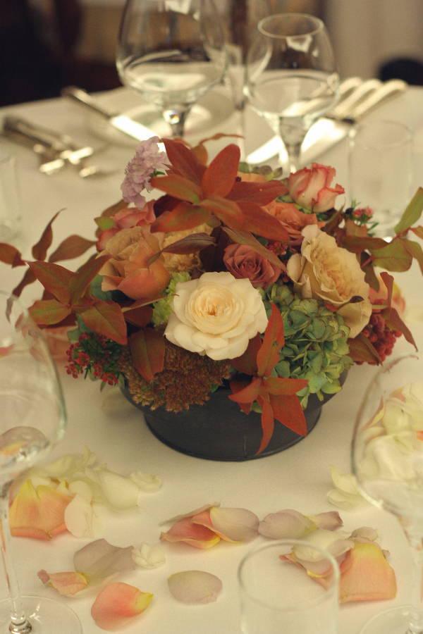 深い秋、翠と紅の装花  代官山パッション様へ_a0042928_225436.jpg