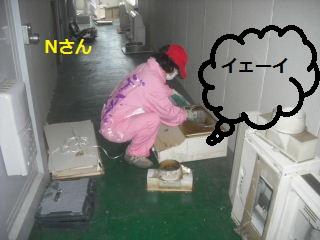 キッチン解体 41台中の初日_f0031037_20142236.jpg