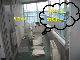 キッチン解体 41台中の初日_f0031037_20144445.jpg