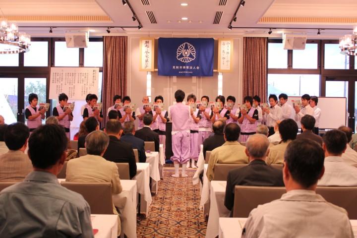 新潟県1位の朝礼を披露してきました。_c0170940_944941.jpg