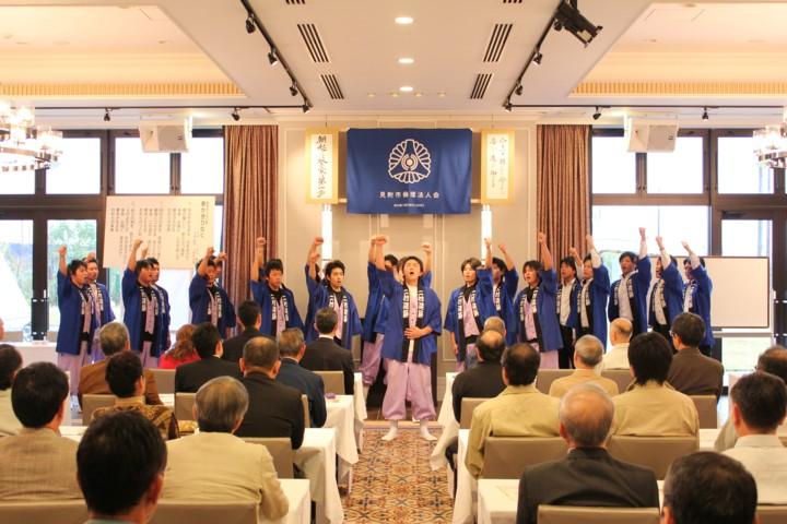新潟県1位の朝礼を披露してきました。_c0170940_945723.jpg