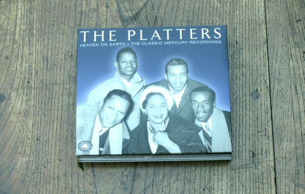 いやー、いいんだよねえプラターズ(THE PLATTERS/HEAVEN ON EARTH-THE CLASSIC MERCURY RECORDINGS)_d0027243_112725100.jpg