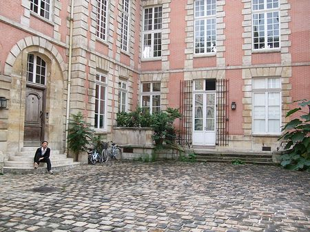 MARIE-LAURE CHAMOREL アトリエ訪問(パリ便り4)_c0176078_1443231.jpg