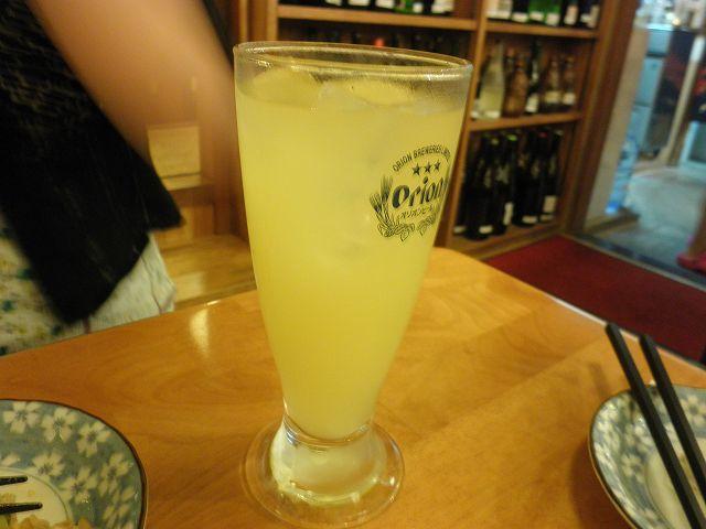 沖縄ダイビング 2日目 夜 居酒屋「海(かい)」 _c0118393_10213396.jpg