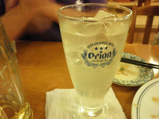 沖縄ダイビング 2日目 夜 居酒屋「海(かい)」 _c0118393_1027255.jpg