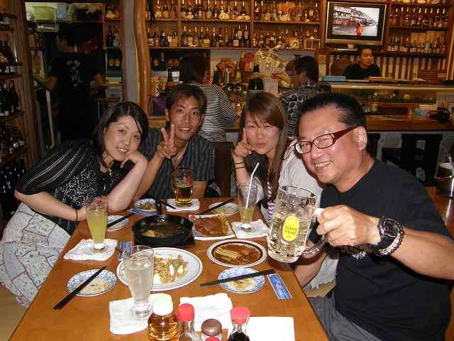 沖縄ダイビング 2日目 夜 居酒屋「海(かい)」 _c0118393_10385822.jpg