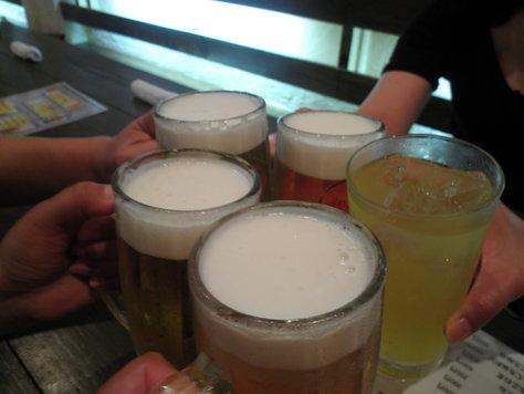 沖縄ダイビング 3日目 夜 居酒屋「くぇぶぅ」_c0118393_18323121.jpg