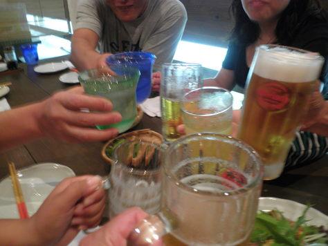 沖縄ダイビング 3日目 夜 居酒屋「くぇぶぅ」_c0118393_18514430.jpg