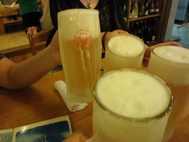 沖縄ダイビング 2日目 夜 居酒屋「海(かい)」 _c0118393_9565127.jpg