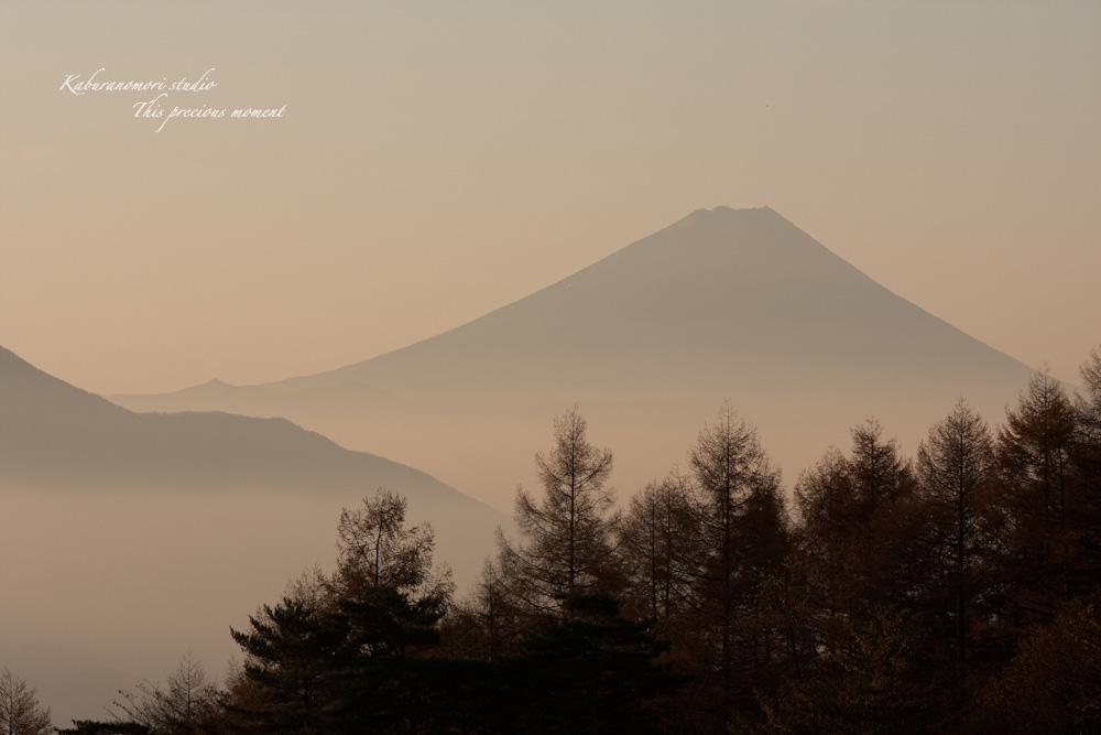 八ケ岳牧場公園からの朝焼け_c0137403_16391159.jpg