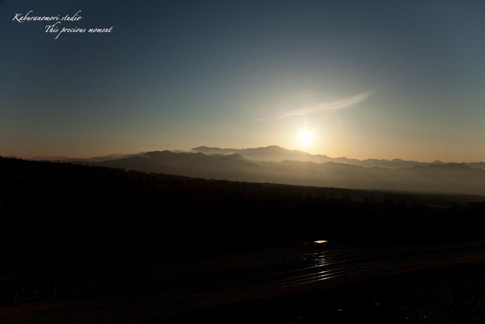 八ケ岳牧場公園からの朝焼け_c0137403_164004.jpg