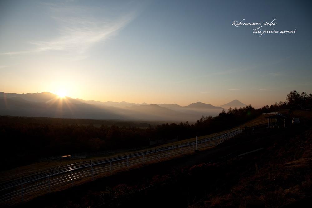 八ケ岳牧場公園からの朝焼け_c0137403_174751.jpg