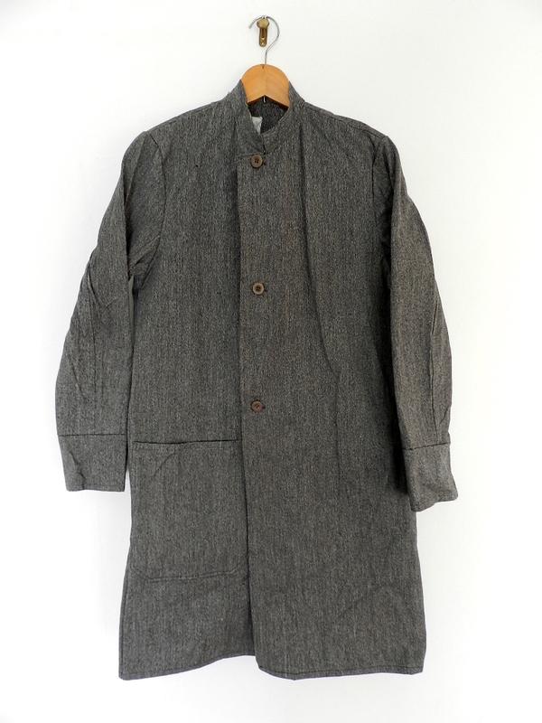 Italian salt & pepper work coat squat version_f0226051_22414770.jpg