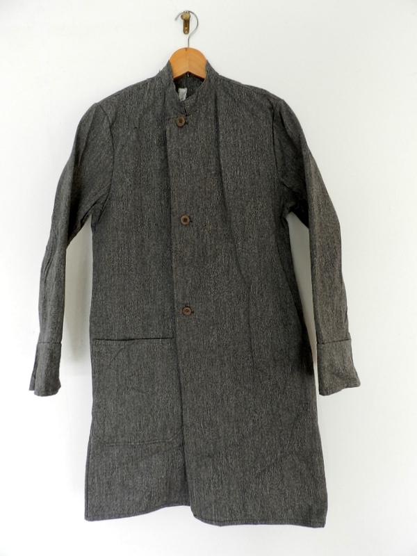 Italian salt & pepper work coat squat version_f0226051_22433591.jpg