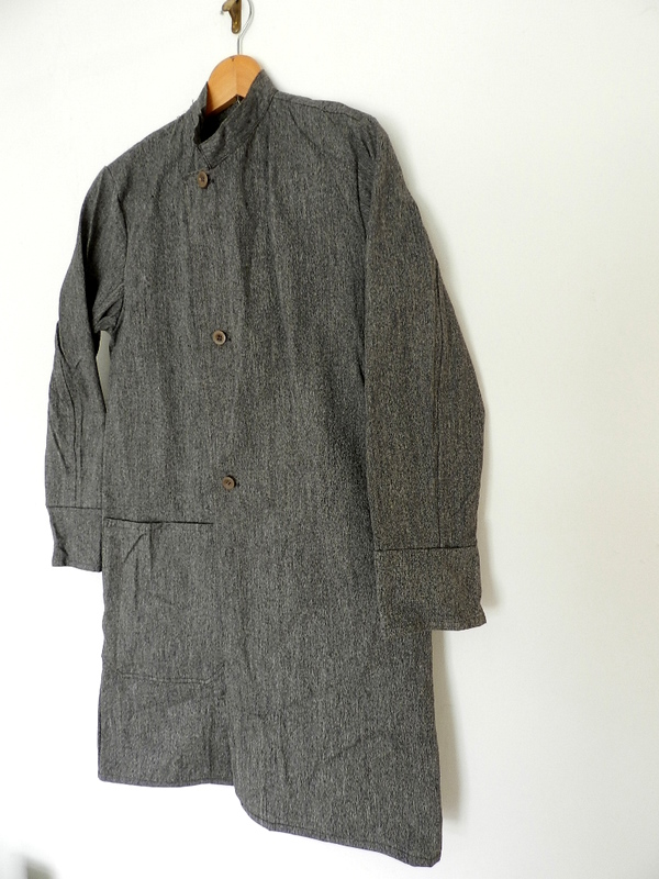 Italian salt & pepper work coat squat version_f0226051_224419.jpg