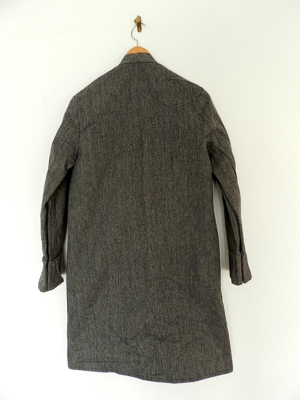 Italian salt & pepper work coat squat version_f0226051_22481897.jpg