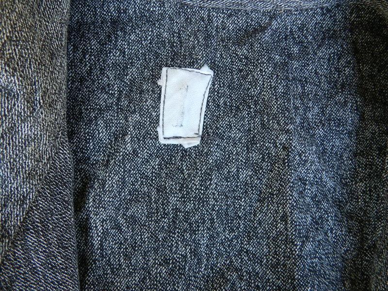 Italian salt & pepper work coat squat version_f0226051_22485854.jpg