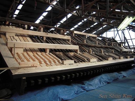 文化財建造物の保存修理 東寺(東大門)  2011年_a0164068_2382364.jpg