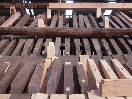 文化財建造物の保存修理 東寺(東大門)  2011年_a0164068_2385699.jpg