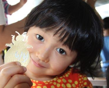 洗足カフェオープン前の子供ワークショップ_e0253101_052112.jpg