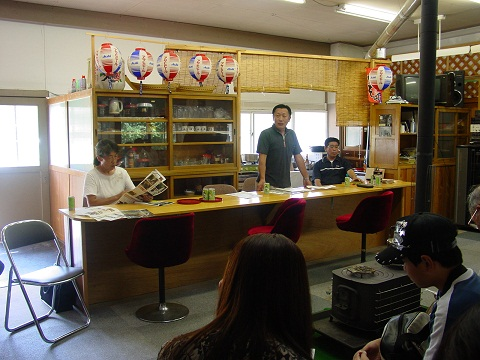 葛巻町冬部地区へ視察に行きました (8月28日)_d0206420_2594950.jpg