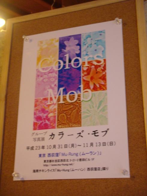 写真展「Colors Mob・カラーズモブ」_a0137727_21115598.jpg