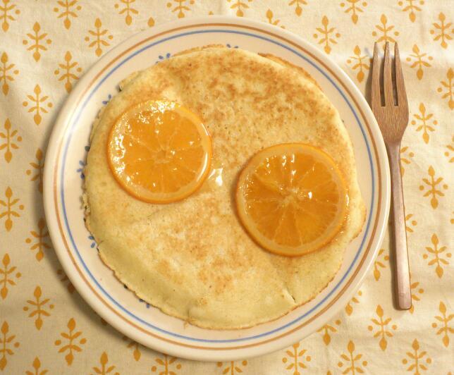 ネーブルオレンジパンケーキ_c0157242_548229.jpg