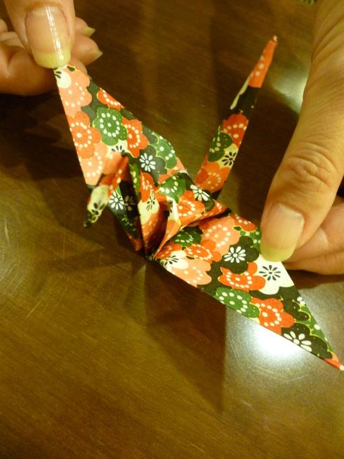 折り鶴に 祈りを込めて。。。@オリエンタルホテル広島 Oriental Hotel Hiroshima。。。.♡*† *・。・。+_a0053662_21123420.jpg