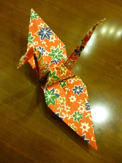 折り鶴に 祈りを込めて。。。@オリエンタルホテル広島 Oriental Hotel Hiroshima。。。.♡*† *・。・。+_a0053662_2116092.jpg