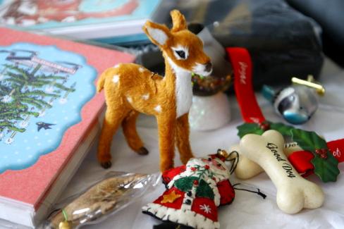勢揃いのクリスマスグッズ♪「Chocolate Mousse」 _d0129786_1635592.jpg