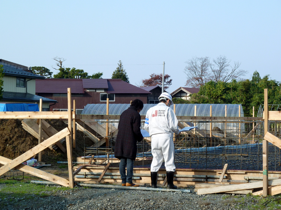 U様邸「下新城の家」 基礎工事中です!_f0150893_18585963.jpg