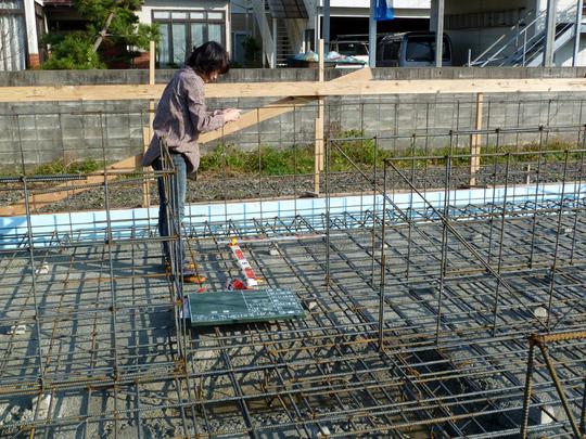 U様邸「下新城の家」 基礎工事中です!_f0150893_1902412.jpg