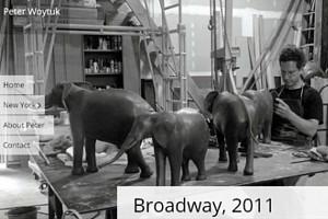 NYブロードウェイの59~168丁目間でパブリック・アート展 Peter Woytuk on Broadway_b0007805_13495878.jpg