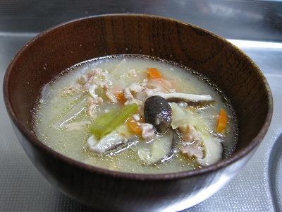 塩鮭のクリ-ムソ-ス♪_f0116812_112613100.jpg