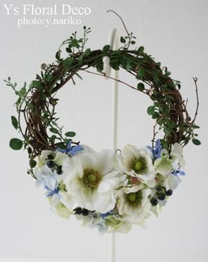 リースブーケと花冠 バリ島のおふたりに_b0113510_13363815.jpg