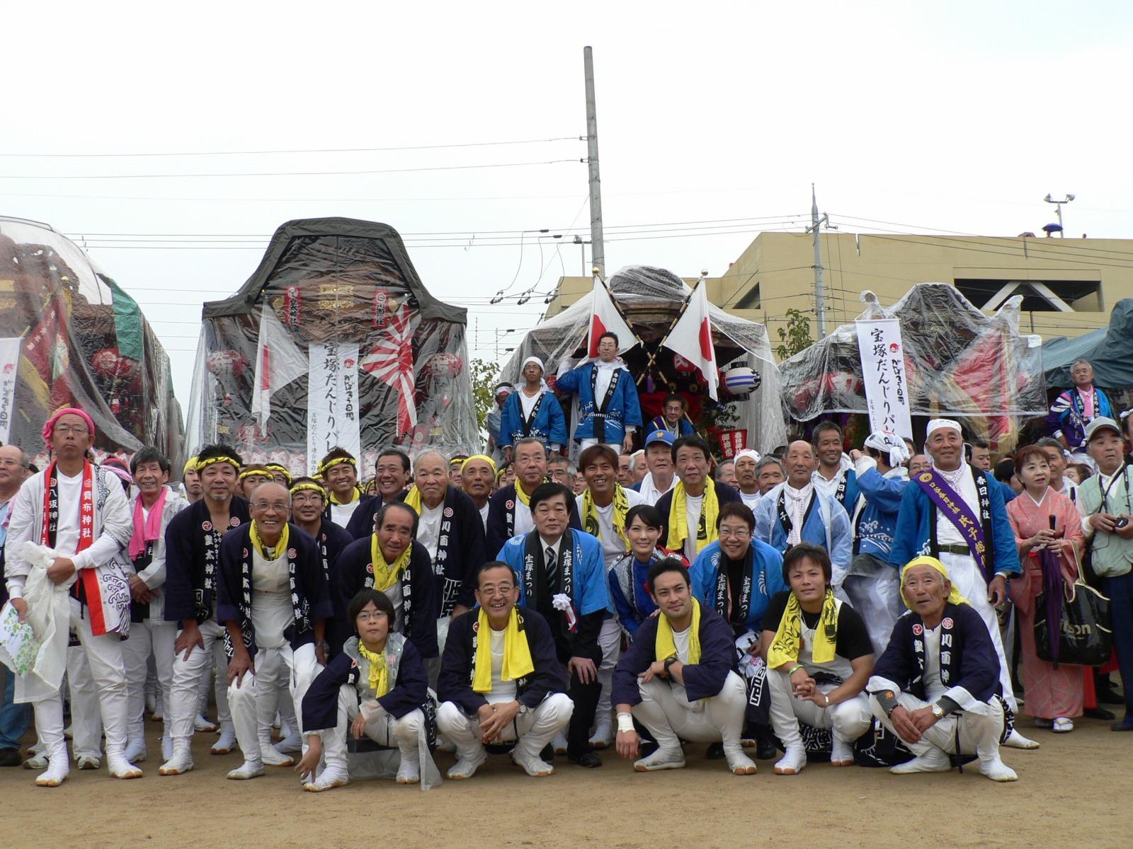 11/5 宝塚だんじりパレード_a0218340_177946.jpg