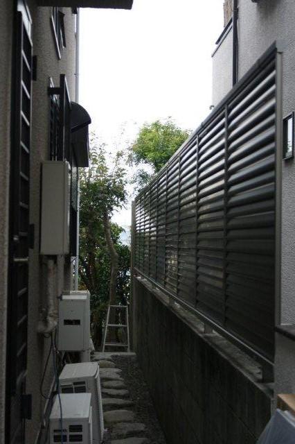 エクステリアの改修が終わりました(横浜市青葉区)_e0207151_19304538.jpg