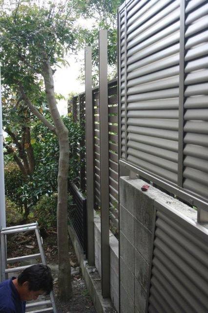 エクステリアの改修が終わりました(横浜市青葉区)_e0207151_19333311.jpg