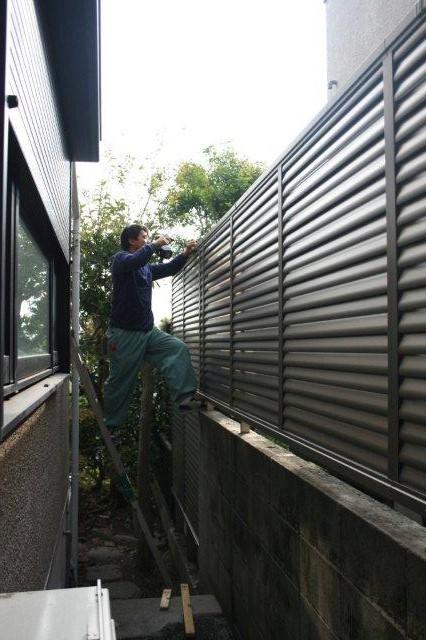 エクステリアの改修が終わりました(横浜市青葉区)_e0207151_19342062.jpg