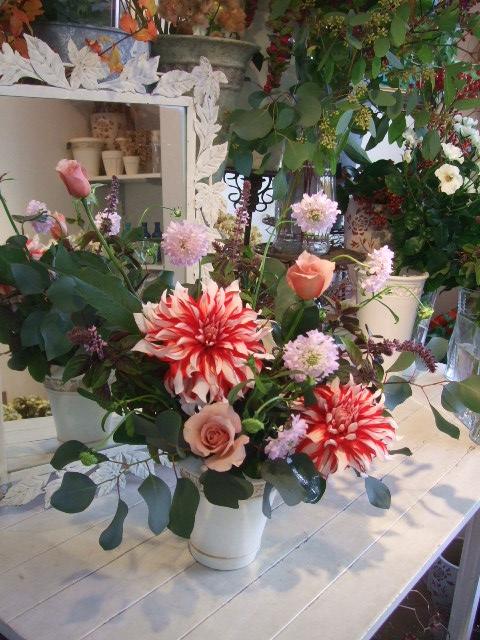 オークリーフ花の教室(加田さんの作品)_f0049672_16291612.jpg