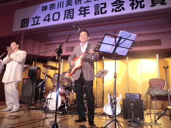 横浜ローズホテルでパーティーライブ_e0119092_1228234.jpg